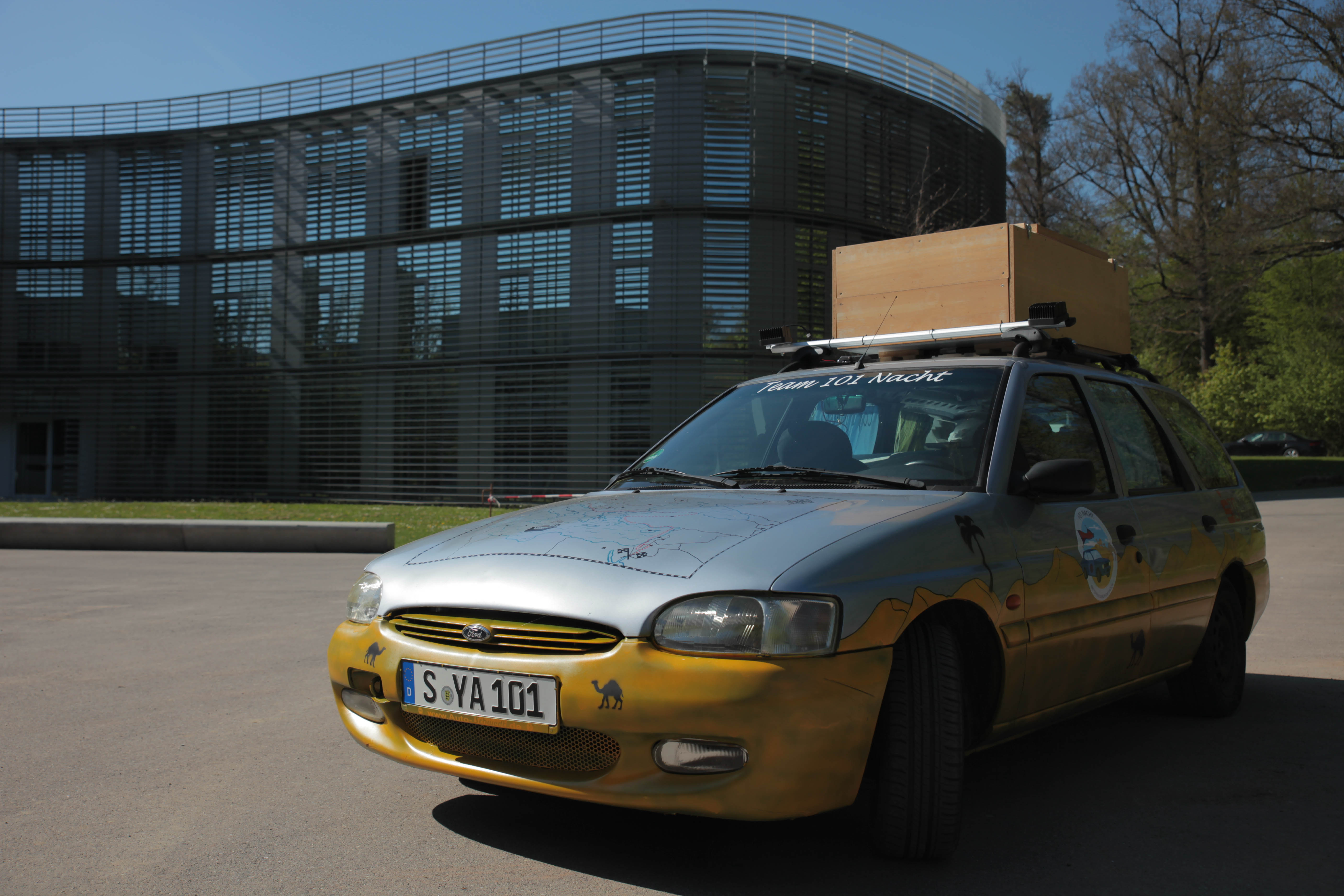 Rallye Team 101 Nacht Blog